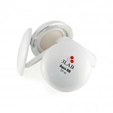 Компактный аква ВВ-крем (кушон) 3Lab Aqua BB SPF 40 + cменный блок 1 Light 28гр