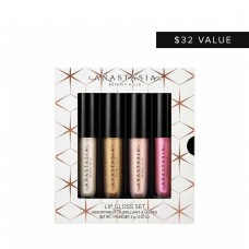 Набор блесков для губ Anastasia Beverly Hills Holiday Mini Lip Gloss Set 4 Minis 4х2гр