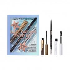 Лимитированный набор Anastasia Beverly Hills Best Brows Ever Kit Taupe (мини версии: гель для фиксации 2,5мл + гель для бровей 2,2гр + полноразмерный механический карандаш для бровей 0,085гр)