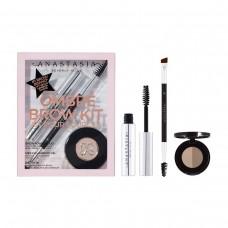 Лимитированный набор Anastasia Beverly Hills Ombré Brow Kit Taupe (тени для бровей 0,8гр + гель для бровей 2,5мл + кисть Brush 7B)