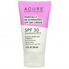 Дневной крем для лица с защитой от солнца Acure Radically Rejuvenating Day Cream SPF30 50мл
