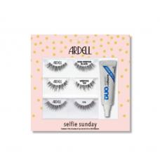 Лимитированный набор накладных ресниц + клей для ресниц Ardell - Selfie Sunday