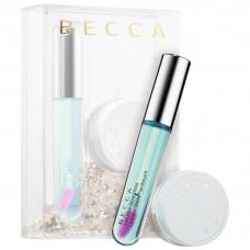 Лимитированный набор BECCA Chill & Glow Setting Powder & Lip Gloss Duo (освежающая пудра 2,5гр + тинт для губ 4,5гр)