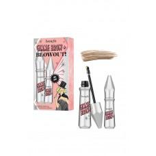 Набор для макияжа бровей Benefit Gimme Brow + Blowout Gel Duo Set Color 2 Warm Golden Blonde (полноразмерный гель для бровей 3гр + мини формат 1,5гр)