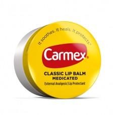 Бальзам для губ баночке Carmex Daily Care Lip Balm Classic Medicated 7,5гр