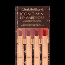 Лимитированный набор помад Charlotte Tilbury Iconic Mini Lip Wardrobe
