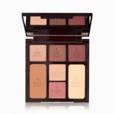 Лимитированная палетка Charlotte Tilbury Instant Look In a Palette Gorgeous, Glowing Beauty 10гр