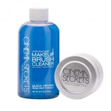 Набор Cinema Secret Makeup Brush Cleaner Pro Starter Kit (очиститель 236мл + емкость для очистки)