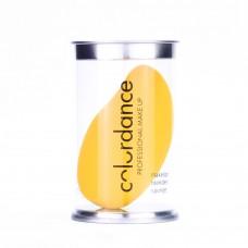 Спонж-блендер для макияжа Colordance оранжевый Манго в тубусе