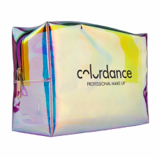 Косметичка Colordance Holografic Bag 10х22х15см