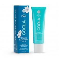 Солнцезащитный крем для лица COOLA Classic Sport Face SPF50 White Tea 50мл