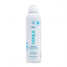 Минеральный солнцезащитный крем для тела без запаха Mineral Body Organic Sunscreen Spray SPF30 fragrance-free 236мл