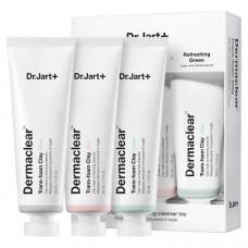 Набор масок для очищения кожи Dr.Jart+ Dermaclear™ Trans-Foam Clay Trio 3x50мл