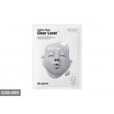 Моделирующая альгинатная маска очищающая Dr.Jart+ Rubber Mask Clear Lover (серая) 1лист