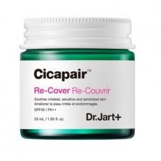 Восстанавливающий крем с коррекцией цвета лица Dr.Jart+ Cicapair ™ Re-Cover Color Correcting Treatment SPF40 55мл