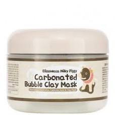 Маска пузырьковая для глубокого очищения пор Elizavecca Carbonated Bubble Clay Mask 100мл