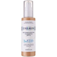 Тональный крем Enough Collagen Whitening Moisture Foundation 3 in 1 (№13)  100мл