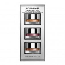 Лимитированный набор теней для век HOURGLASS NEW Scattered Light™ Glitter Eyeshadow Collection 3х2гр