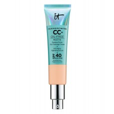 Тональный СС крем для лица IT Cosmetics CC+ Cream Oil-Free Matte with SPF 40 Light mini 12мл
