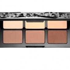 Палетка для сухого контуринга Kat Von D Shade + Light Refillable Face Contour Palette