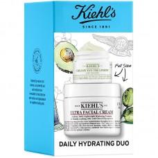 Лимитированный набор Kiehl's Since 1851 Daily Hydrating Duo (крем для лица 50мл + крем под глаза 14мл)