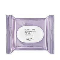 Отшелушивающие салфетки KIKO Pure Clean Scrub&Peel