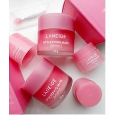 АКЦИЯ! Маска для губ LANEIGE Lip Sleeping Mask Berry 20гр + 3гр мини в подарок