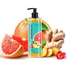 Антицеллюлитное масло Letique грейпфрут- имбирь-чили 200мл