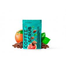 Кофейный скраб для тела с экстрактом грейпфрута Letique 250гр