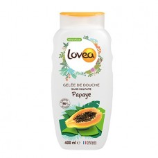 """Гель для душа """"Папайя"""" Lovea Energising Shower Gel Papaya 400мл"""