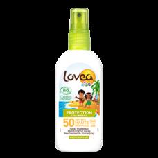 Солнцезащитный спрей для детей Lovea Protection Bio Sun Spray Kids SPF 50 100% минеральный 100мл