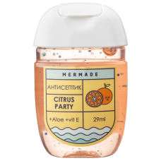 Антисептик для рук MERMADE Citrus Party (апельсин) 29мл