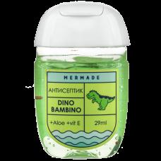 Антисептик для рук MERMADE Динозавр Dino Bambino (арбуз) 29мл