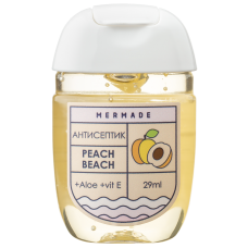 Антисептик для рук MERMADE Peach Beach (персик) 29мл