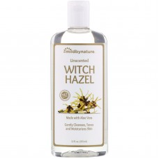 Тоник без спирта Mild By Nature Witch Hazel Alcohol-Free Unscented (без запаха) 355мл