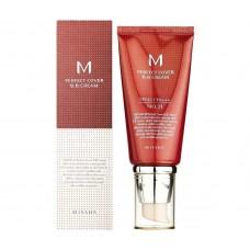 ВВ крем матирующий Missha M Perfect Cover BB Cream SPF42 PA+++ 50ml 21 оттенок - светлый беж