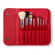 Набор кистей для макияжа Morphe Brushes Set 700 Candy Apple Red 8штук