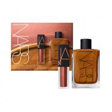 Лимитированный набор NARS Mini Lip Oil & Mini Body Glow Set (сияющее масло для тела 30мл + масло для губ 3,5мл)