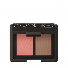 Палетка для макияжа лица NARS Blush/Bronzer Duo Mini Orgasm/ Laguna 5гр