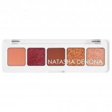 Палетка теней NATASHA DENONA Mini Sunset Eyeshadow Palette 4гр