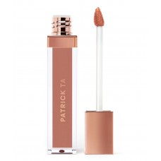 Жидкая губная помада PATRICK TA Monochrome Moment - Silky Lip Crème COLOR: She's Independent - pink beige 7мл