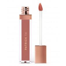Жидкая губная помада PATRICK TA Monochrome Moment - Silky Lip Crème COLOR: She's Secure - peachy pink 7мл