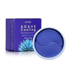 Гидрогелевые охлаждающие патчи для глаз с экстрактом агавы PETITFEE Agave Cooling Hydrogel Eye Patch 60шт