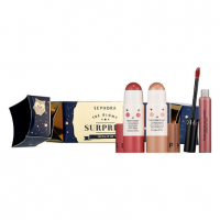 Лимитированный набор SEPHORA COLLECTION The Glowy Surprise Face and Lip Kit Popper