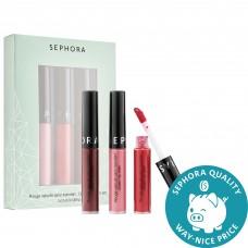 Лимитированный набор помад SEPHORA COLLECTION Mini Cream Lip Stain Set 3х2,5мл