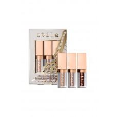 Набор жидких теней для век набор STILA Shimmer Heights Mini Shimmer & Glow Liquid Eye Shadow Set 3х2,25мл