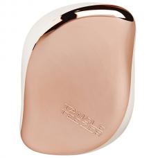 Компактная расческа для волос Tangle Teezer Compact Styler Ivory Rose Gold