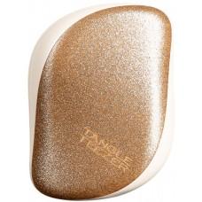 Компактная расческа для волос Tangle Teezer Compact Styler Glitter Gold