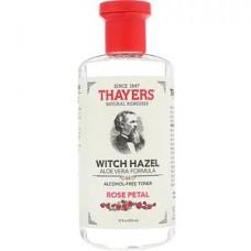 Тоник без спирта Thayers Witch Hazel Aloe Vera Formula Alcohol-Free Toner Rose Petal 355мл