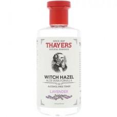Тоник без спирта Thayers Witch Hazel Aloe Vera Formula Alcohol Free Toner Lavender 355мл